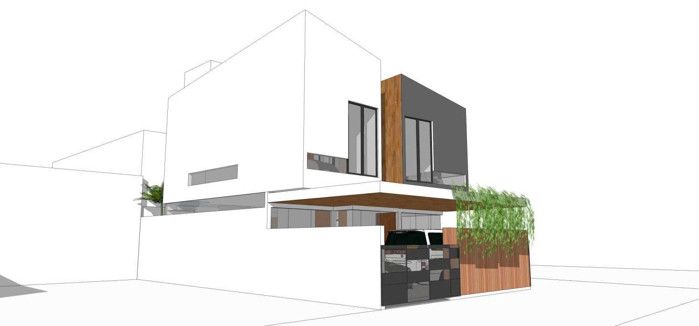 Dmnt Architects Mutiara House Bekasi, West Java, Indonesia Bekasi, West Java, Indonesia Front View  29013