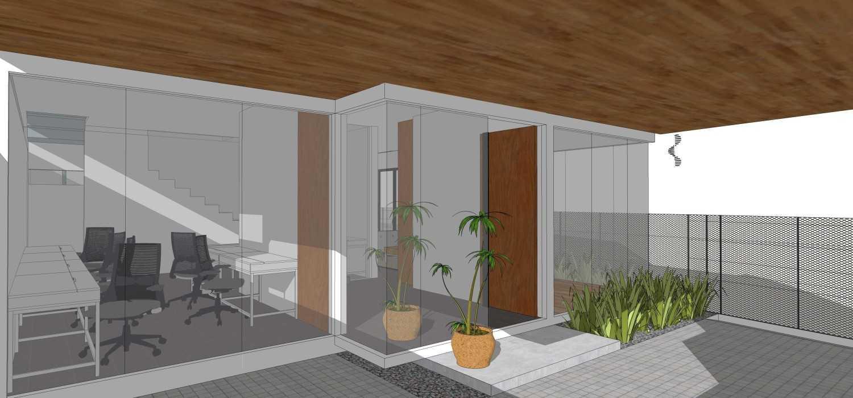 Dmnt Architects Mutiara House Bekasi, West Java, Indonesia Bekasi, West Java, Indonesia Entrance Area  29014