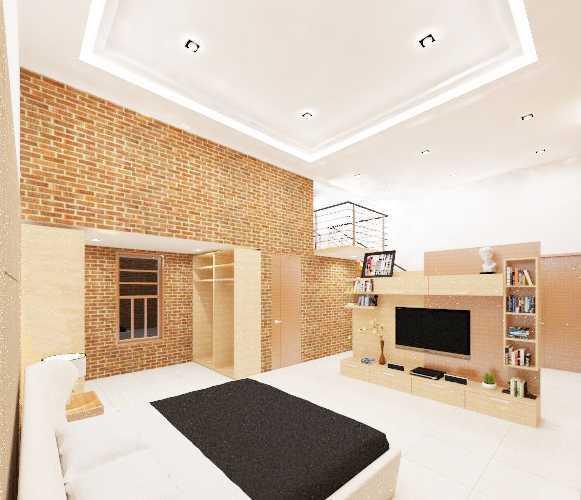 Rqt8 Brick House Jakarta, Indonesia Jakarta Kamar-Tidur-Utama-2 Modern 22600