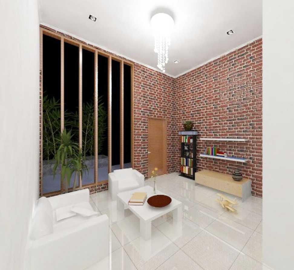 Rqt8 Brick House Jakarta, Indonesia Jakarta Ruang-Tamu-2 Modern 22603