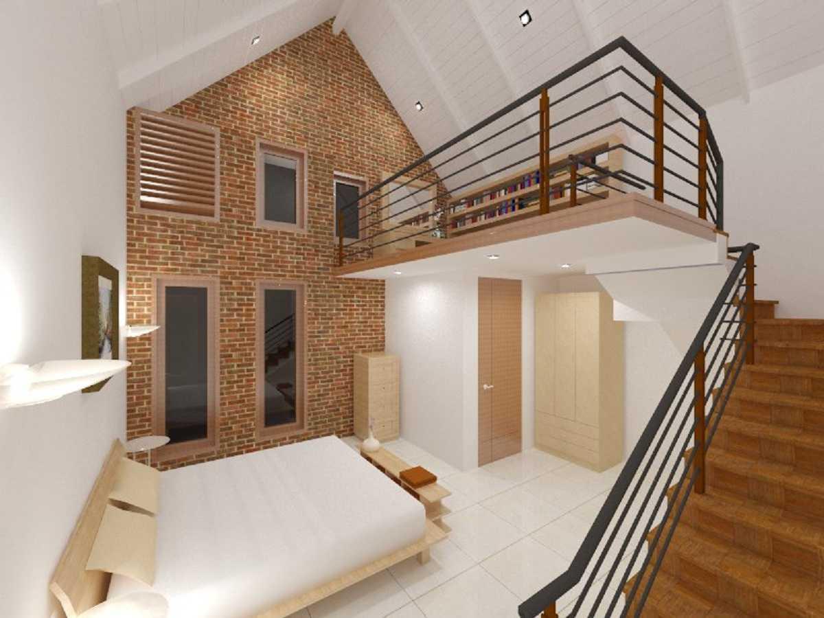 Rqt8 Brick House Jakarta, Indonesia Jakarta Kamar-Tidur-Anak-2 Modern 22605