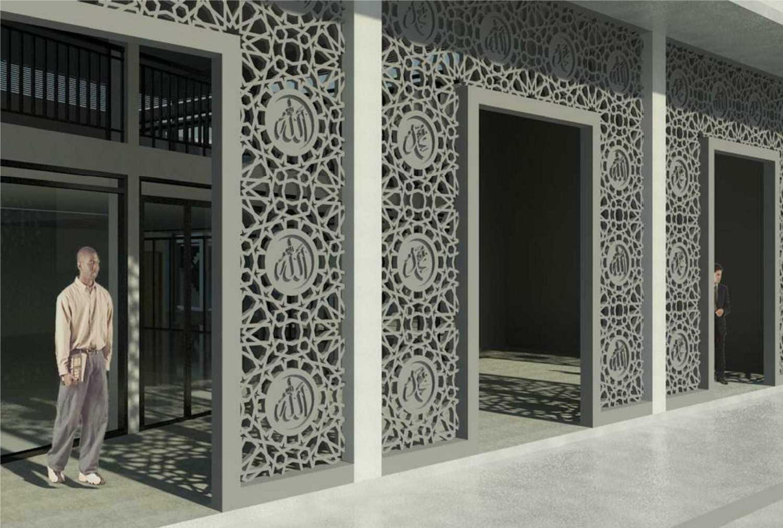 Rqt8 Masjid Baitul Ilmi, Sman 1 Balikpapan Balikpapan Balikpapan 20171008-Rendering-Teras-Depan Modern 40892