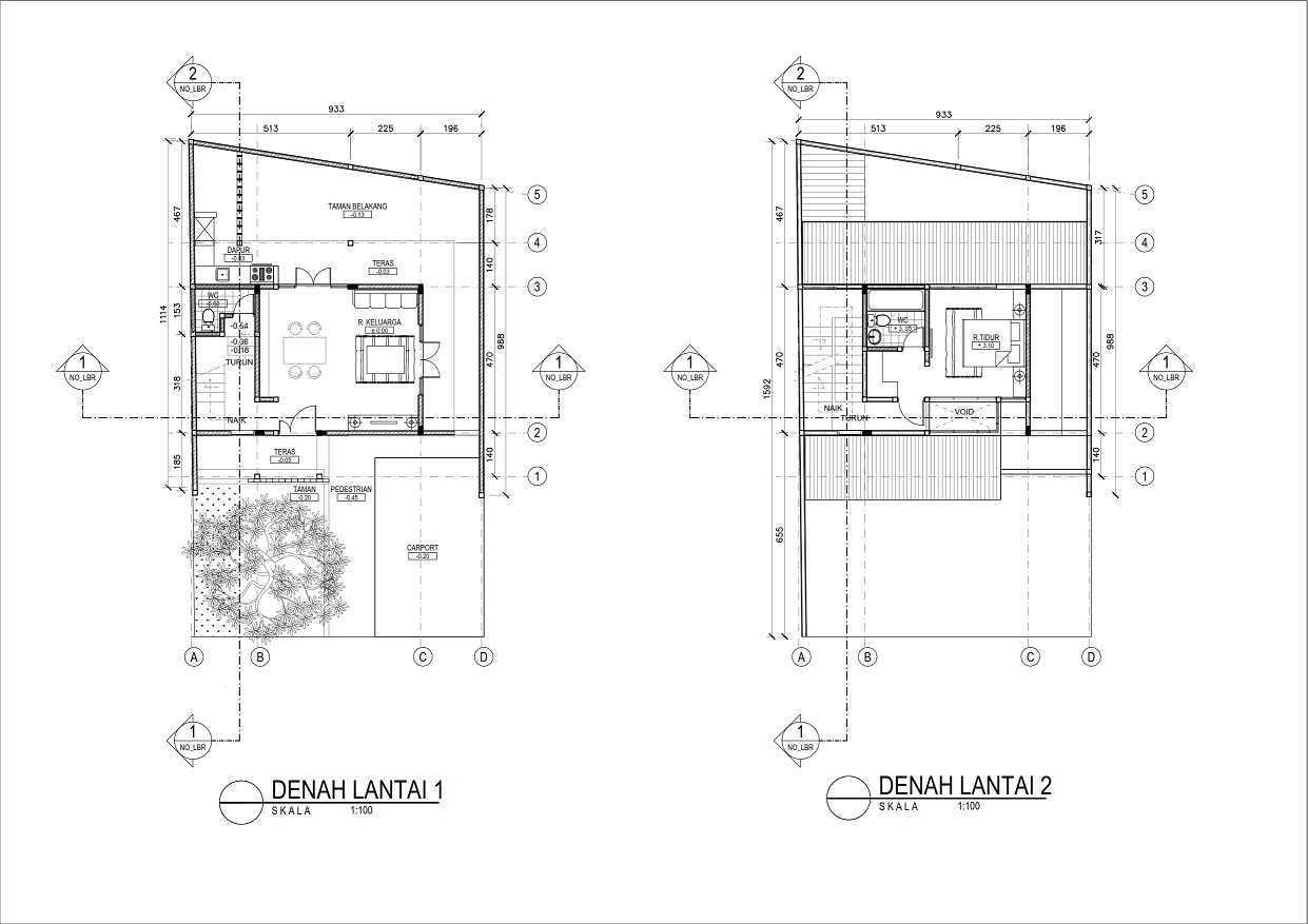 Rqt8 Compact House Jakarta Jakarta Denah001 Modern 28335