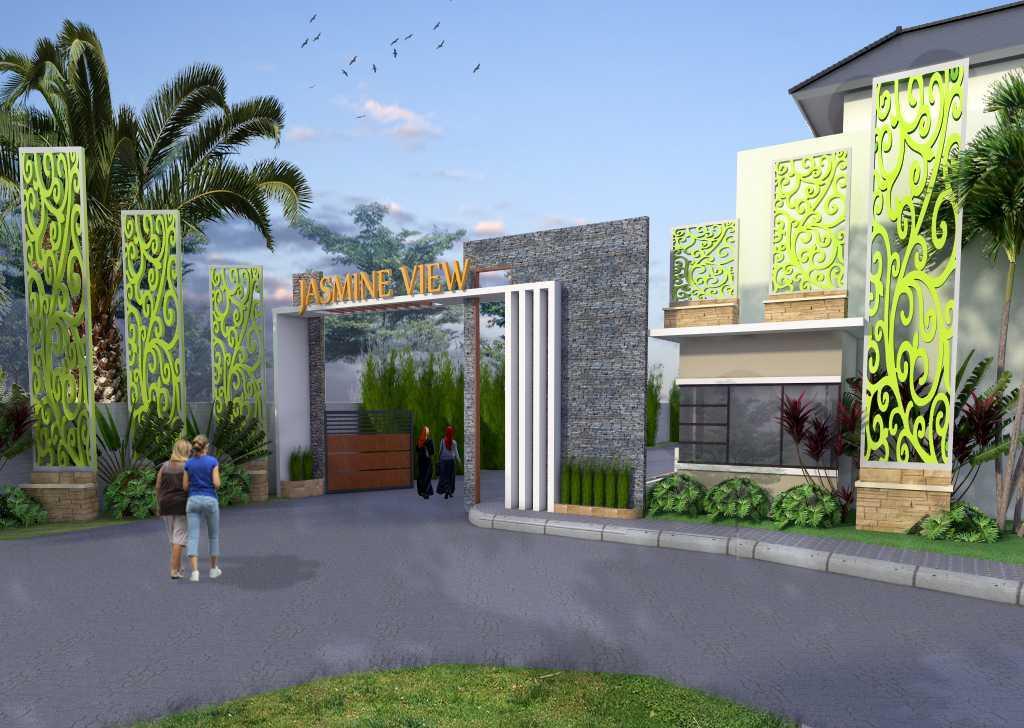 Rqt8 Jasmine View Residence Bogor, Jawa Barat, Indonesia Bogor, Jawa Barat, Indonesia Entrance Area Minimalist 40904