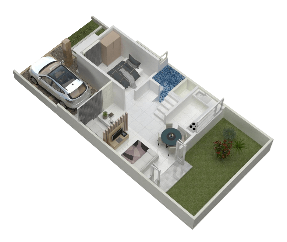 Rqt8 Jasmine View Residence Bogor, Jawa Barat, Indonesia Bogor, Jawa Barat, Indonesia Tipe 90 Floorplan Lt. 1 Minimalis 40908