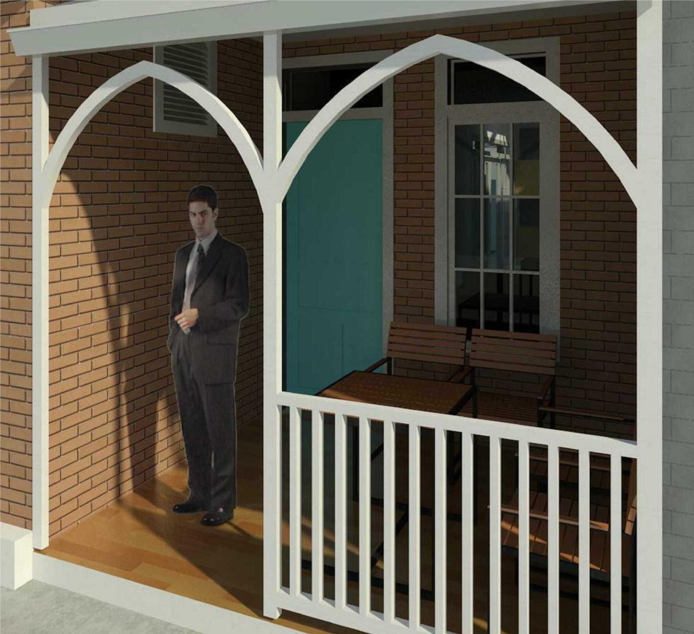 Foto inspirasi ide desain pintu masuk klasik Entrance area oleh RQT8 di Arsitag