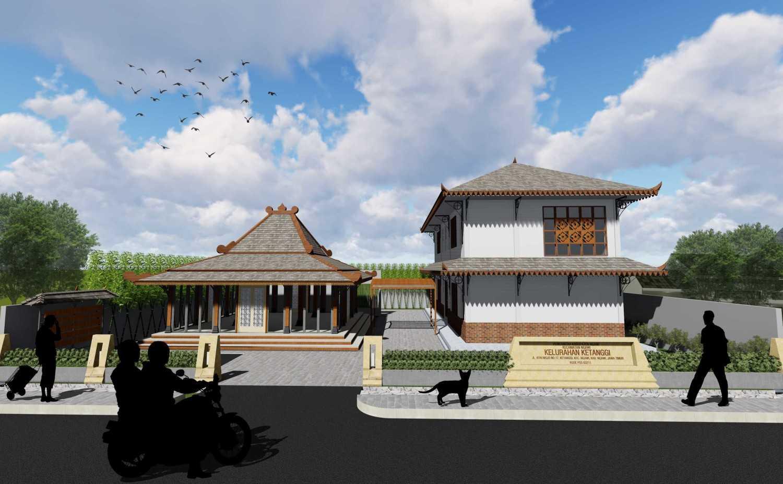 Vishaka Architect Studio Kantor Kelurahan Ngawi Regency, East Java, Indonesia Kab. Ngawi  Front View  23060
