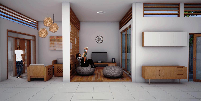 Vishaka Architect Studio Rumah A5 Sleman Regency, Special Region Of Yogyakarta, Indonesia Sleman Regency, Special Region Of Yogyakarta, Indonesia Interior-3  32494