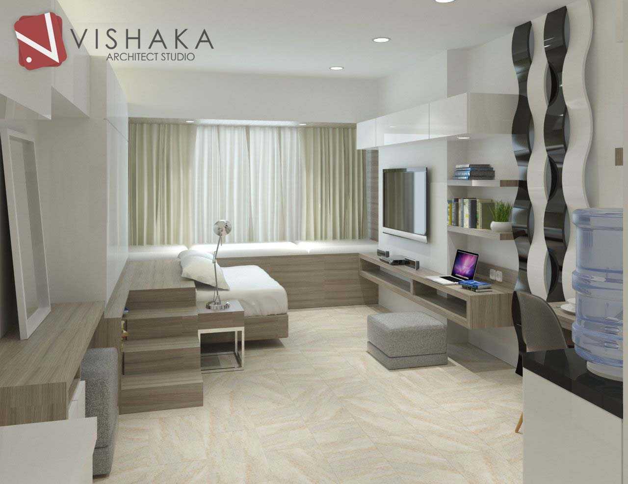 project interior apartment desain arsitek oleh vishaka architect