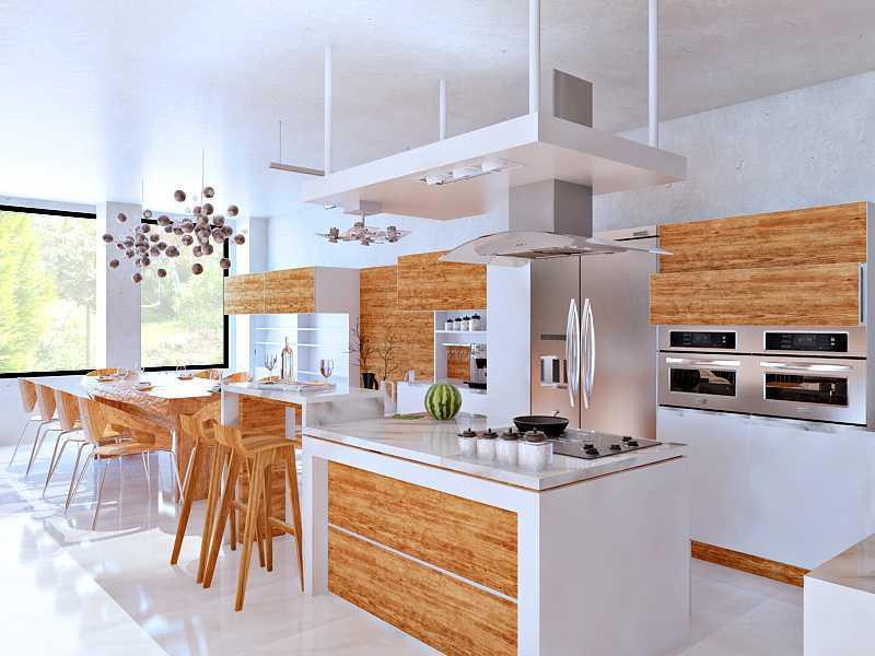 Hive Design & Build Camar Residence Pantai Indah Kapuk Pantai Indah Kapuk Kitchen-Area  23326