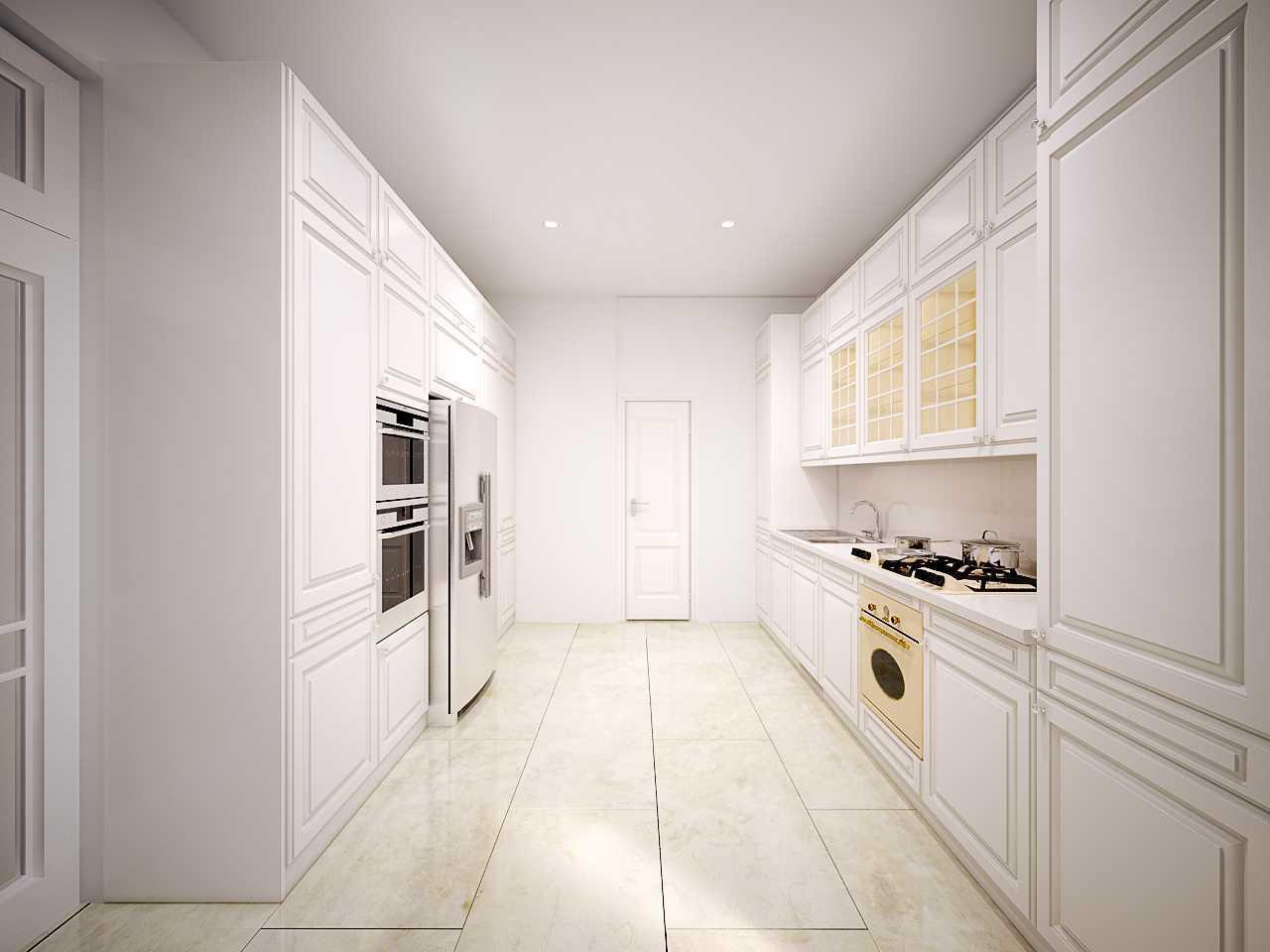 Foto inspirasi ide desain dapur klasik Kitchen-layout-pertama oleh Hive Design & Build di Arsitag