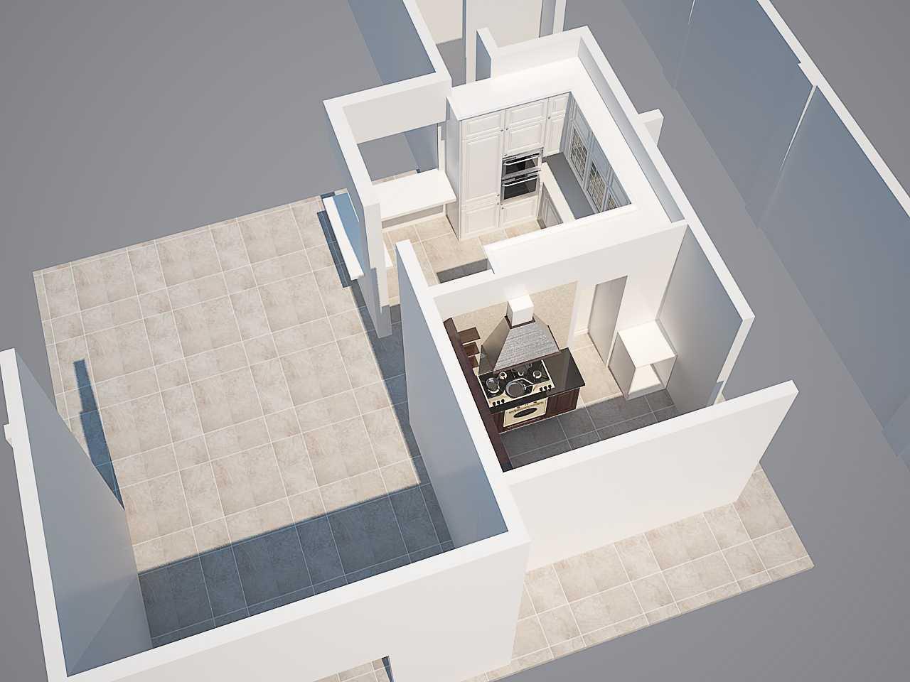 Hive Design & Build Taman Kencana Taman Kencana, Jakarta Barat Taman Kencana, Jakarta Barat Plan-Kitchen-And-Pantry Modern 25925