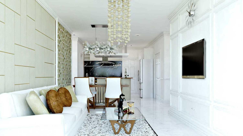 Hive Design & Build Ancol Mansion Jakarta Utara Jakarta Utara Living Room Kontemporer 25932