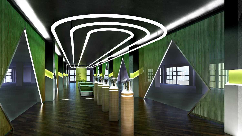 Foto inspirasi ide desain display area kontemporer Interior oleh Hive Design & Build di Arsitag