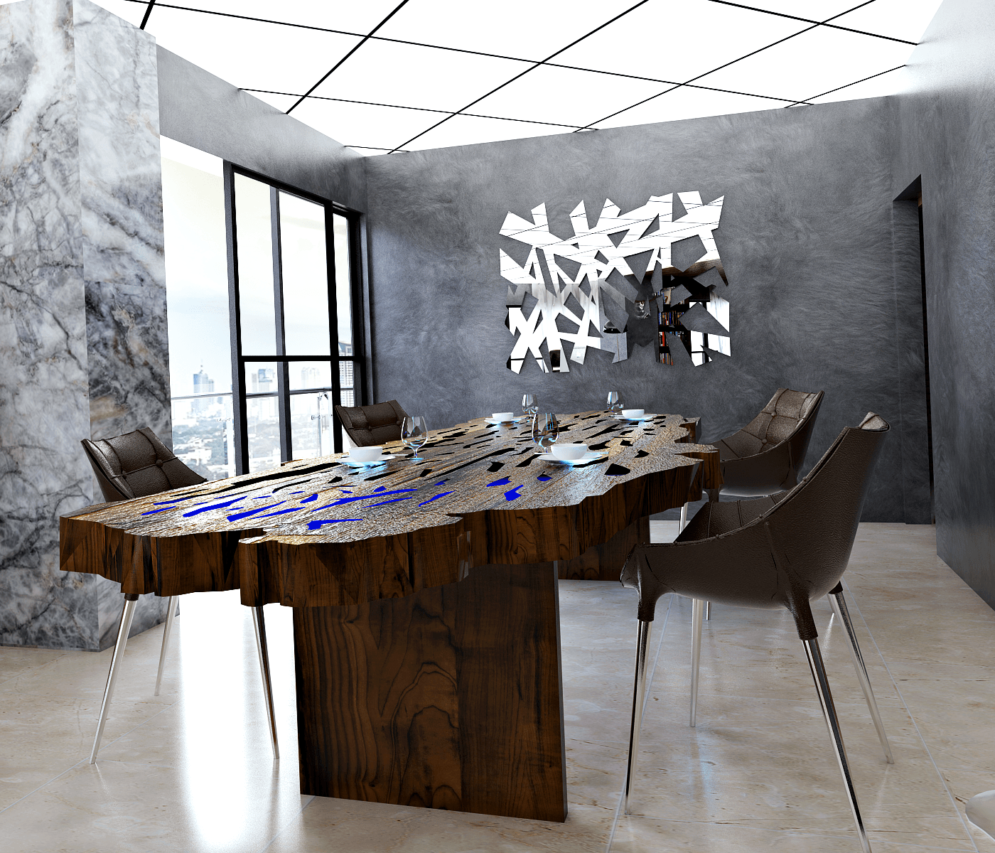 Hive Design & Build Four Seasons Apartment  Jakarta Jakarta Eat Minimalis 25952