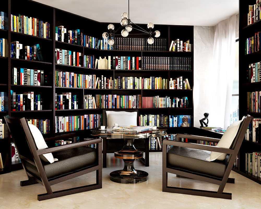 Foto inspirasi ide desain perpustakaan minimalis Read oleh Hive Design & Build di Arsitag