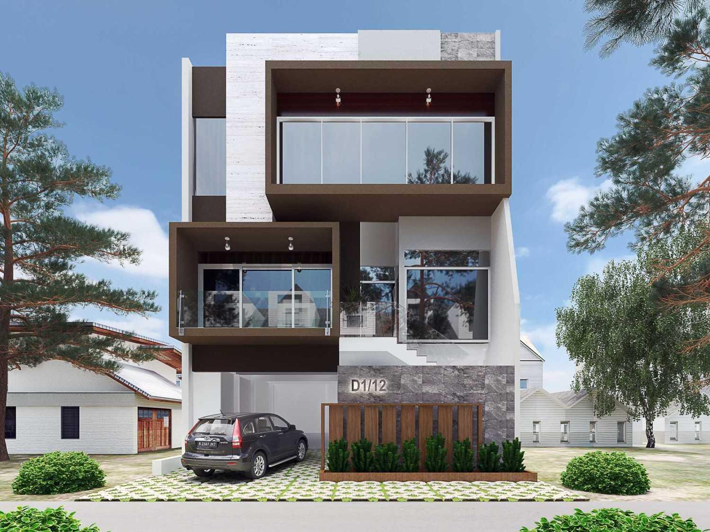 Hive Design & Build Pantai Indah Kapuk Residence Jakarta Jakarta Tampak-Depan-Rumah-Bapak-Reza-Puri-Indah-Final  26562