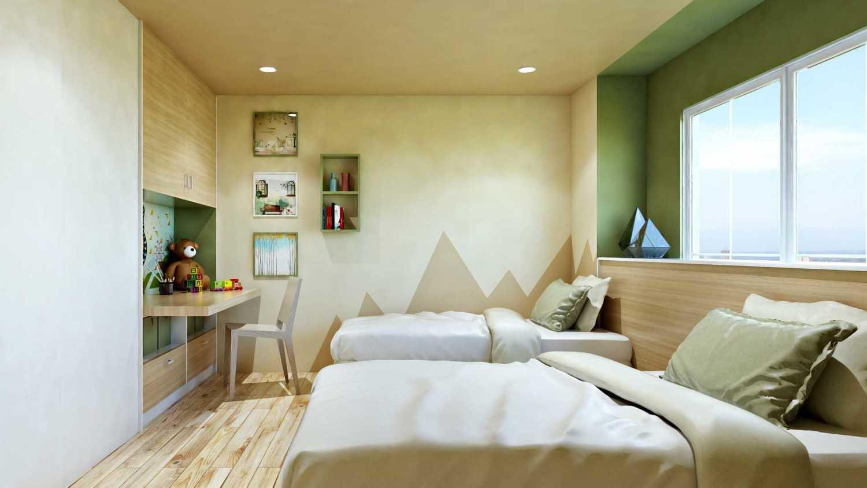 Hive Design & Build Kamar Anak Permata Hijau Jakarta Barat Jakarta Barat Kids Bedroom Skandinavia 26570