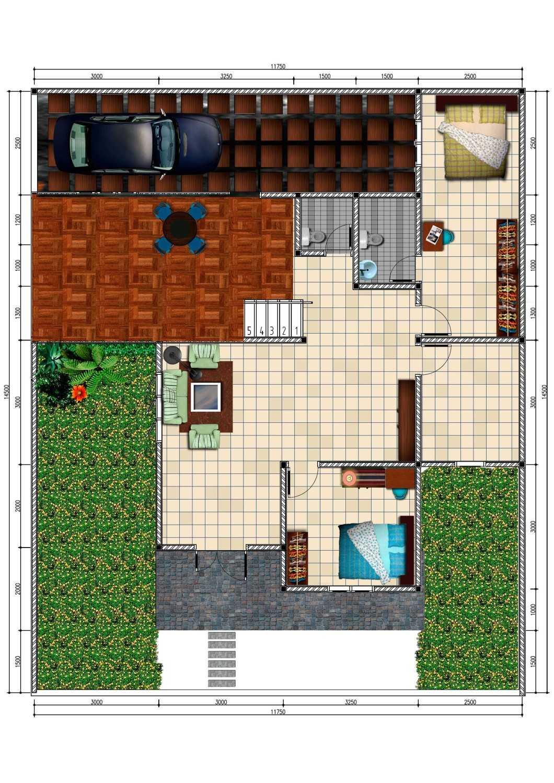 Ink_Design Private House Depok Depok Denah  24238
