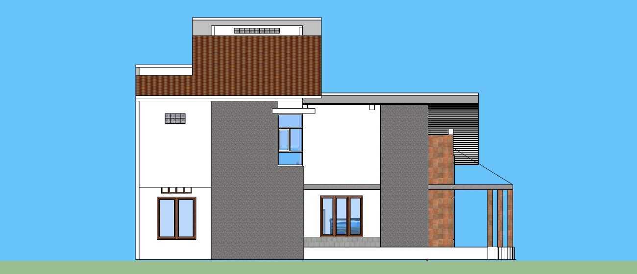 Ink_Design Private House Depok Depok Tampak Samping Kiri  24241