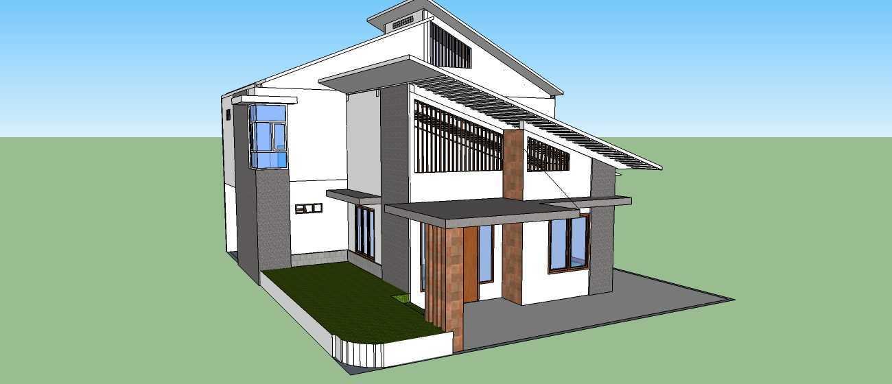 Ink_Design Private House Depok Depok Perspektif 1  24245
