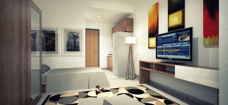 Dimas Andrea Apartment - Studio Unit Type 21B - Twin Bed Karawang, Bekasi Karawang, Bekasi Single-Twin Minimalis,modern 23802