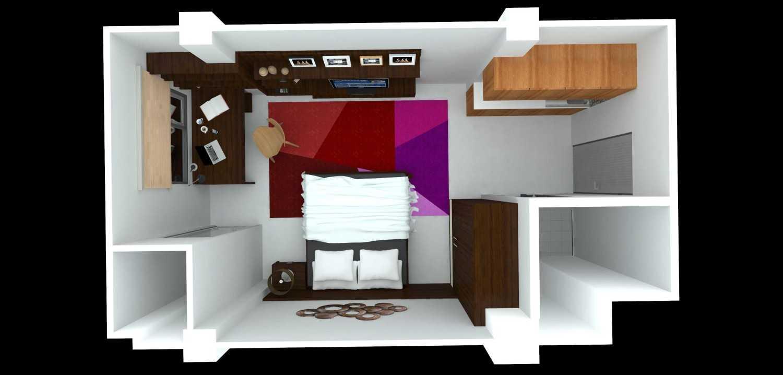 Dimas Andrea Apartment - Studio Unit Type 18B Bandung Bandung Plan-Type-C Modern 23806
