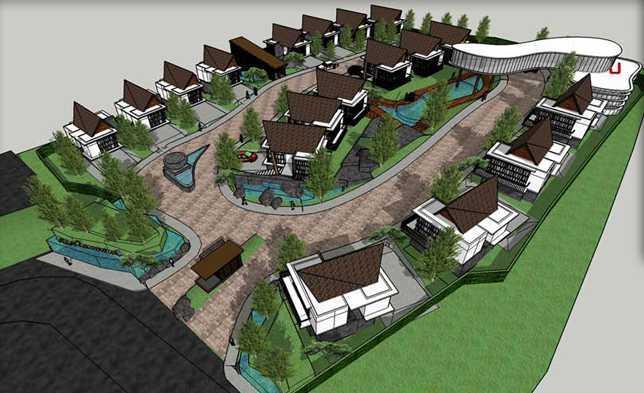 Bral Architect Lembang Townhouse Lembang, West Bandung Regency, West Java, Indonesia Lembang Bird Eye View Modern 24854