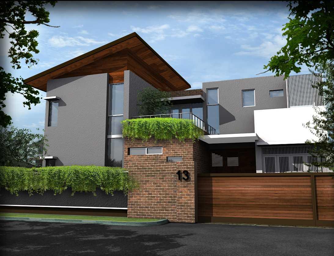 Bral Architect Bintaro House Bintaro, Pesanggrahan, South Jakarta City, Jakarta, Indonesia Bintaro Front View Modern 24848