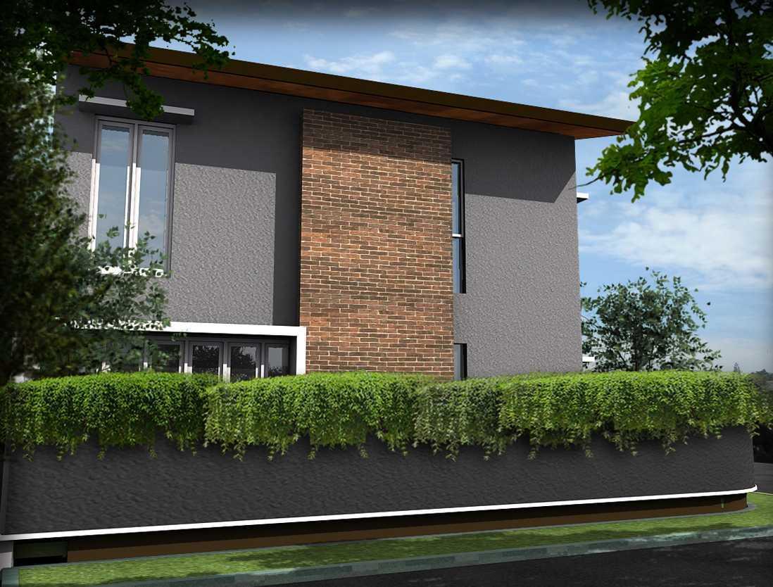 Bral Architect Bintaro House Bintaro, Pesanggrahan, South Jakarta City, Jakarta, Indonesia Bintaro Front View Modern 24850