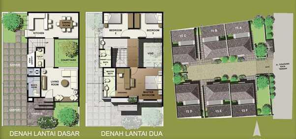 Bral Architect Cigadung Townhouse Cigadung, Cibeunying Kaler, Bandung City, West Java, Indonesia Cigadung, Bandung Cigadung Modern 24845