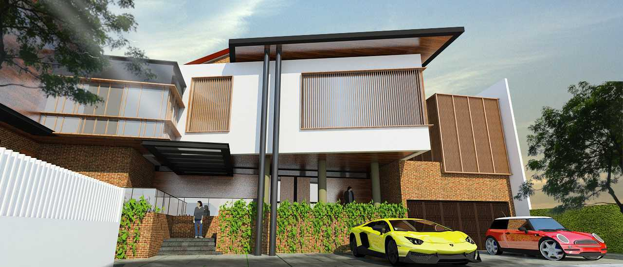 Indra Gunadi Kpbd Residence West Jakarta, Kebon Jeruk, West Jakarta City, Jakarta, Indonesia Jakarta Contemporary Style 2 Kontemporer 24906