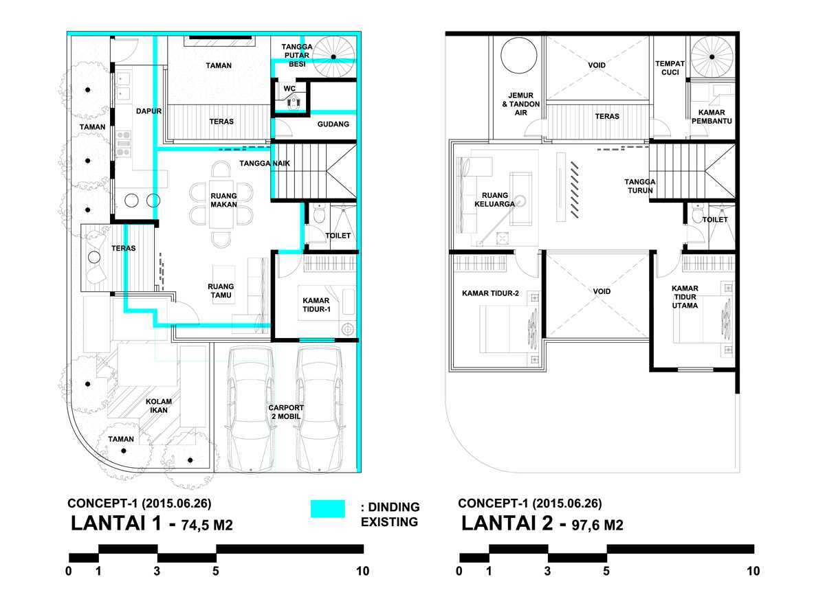 Bral Architect Graha Bintaro Residence Bintaro, Pesanggrahan, South Jakarta City, Jakarta, Indonesia Bintaro Graha-Bintaro-Layout Modern 25819
