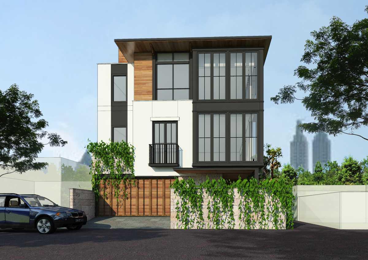 Bral Architect Tebet Residence Tebet, South Jakarta City, Jakarta, Indonesia Tebet, Jakarta Tebet-Facade-2- Kontemporer 25828