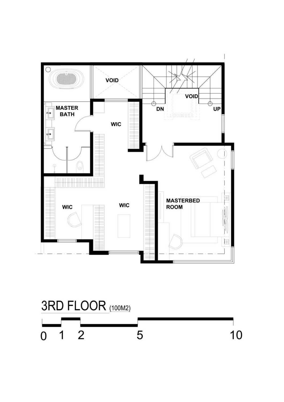 Bral Architect Tebet Residence Tebet, South Jakarta City, Jakarta, Indonesia Tebet, Jakarta Tebet-Level-3 Kontemporer 25832