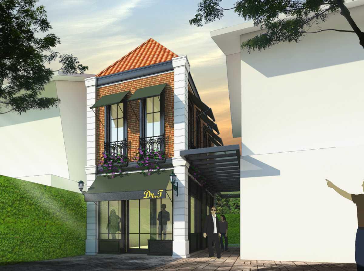 Foto inspirasi ide desain exterior klasik Facade-style-classic oleh Bral Architect di Arsitag