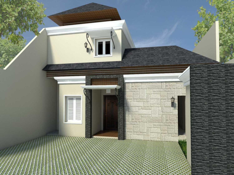Ark.tekt Design Studio Rm House Buncit Indah, Jakarta Buncit Indah, Jakarta Front View Modern 25251