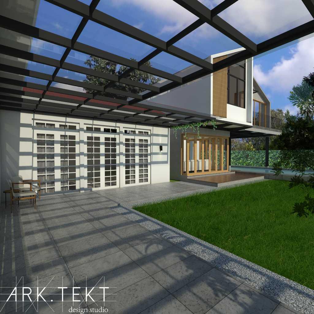Foto inspirasi ide desain exterior skandinavia Terrace oleh ARK.TEKT design studio di Arsitag