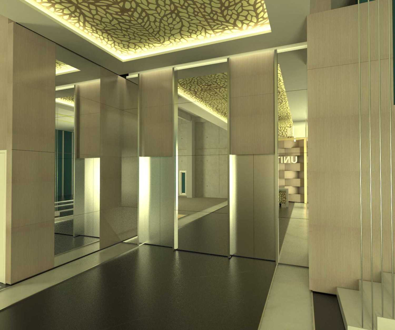 X3M Architects Unity Building Serpong Serpong Lobby-Unity-Tower-2-Hi-Res Modern 25359