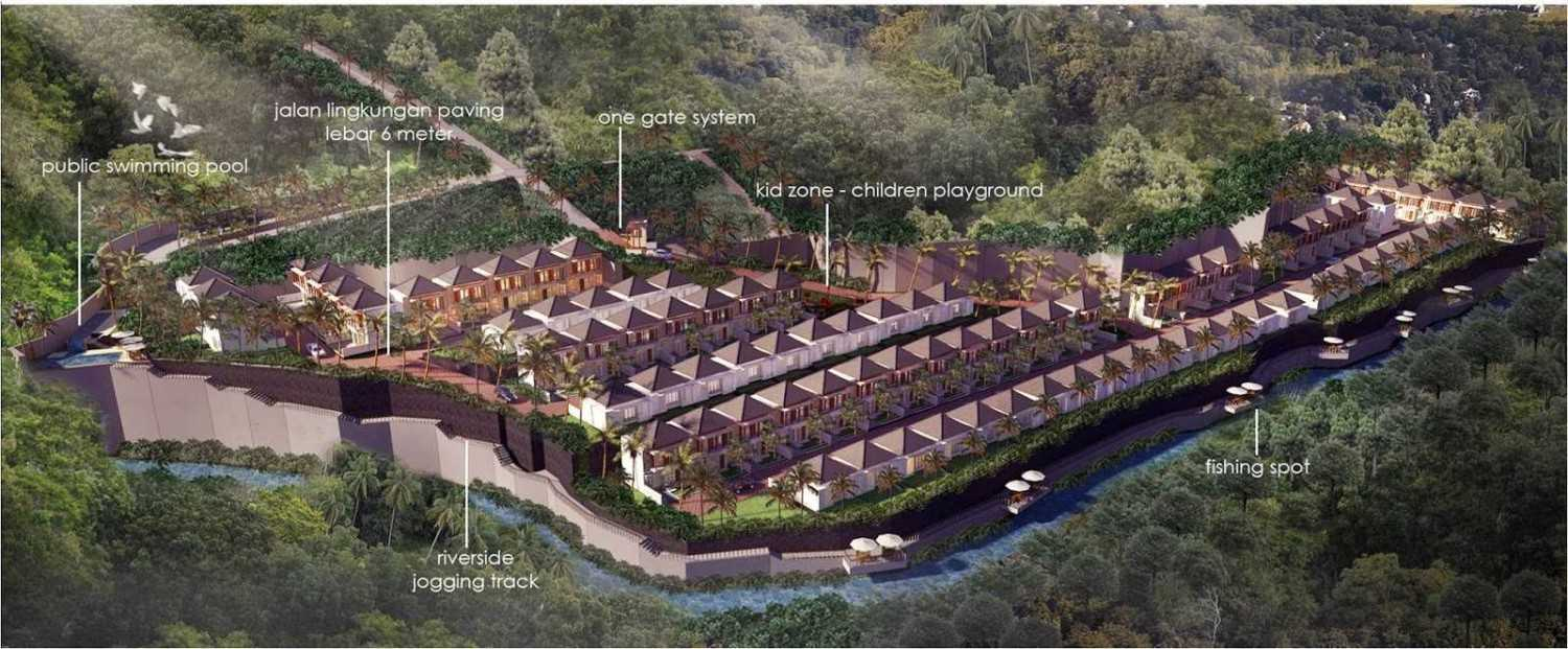 Hg Architects & Designers Associates Denbantas Riverview Residences Tabanan, Bali Tabanan, Bali Bird Eye View  24190