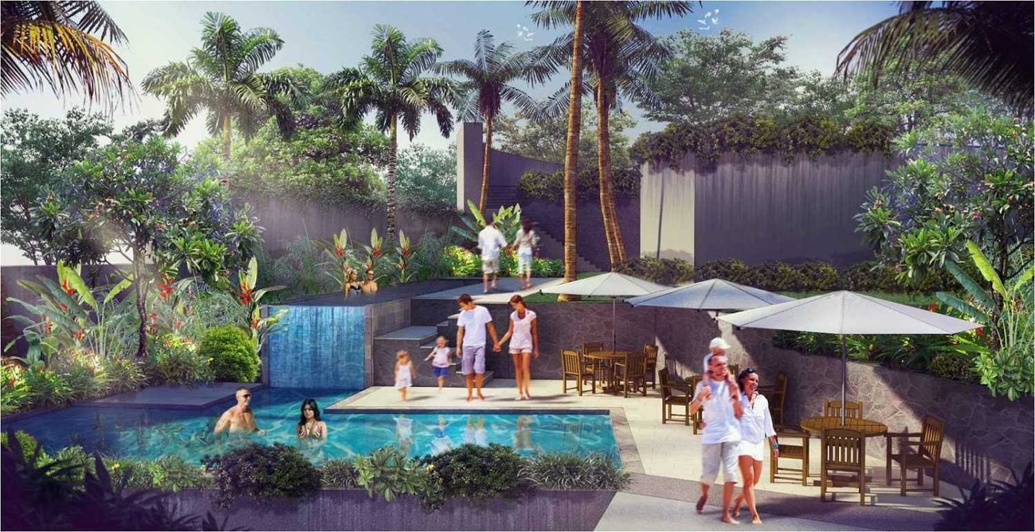 Hg Architects & Designers Associates Denbantas Riverview Residences Tabanan, Bali Tabanan, Bali Swimming Pool Area  24191