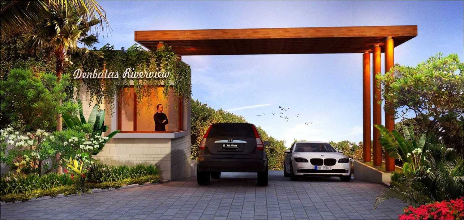 Hg Architects & Designers Associates Denbantas Riverview Residences Tabanan, Bali Tabanan, Bali Front Gate  24192