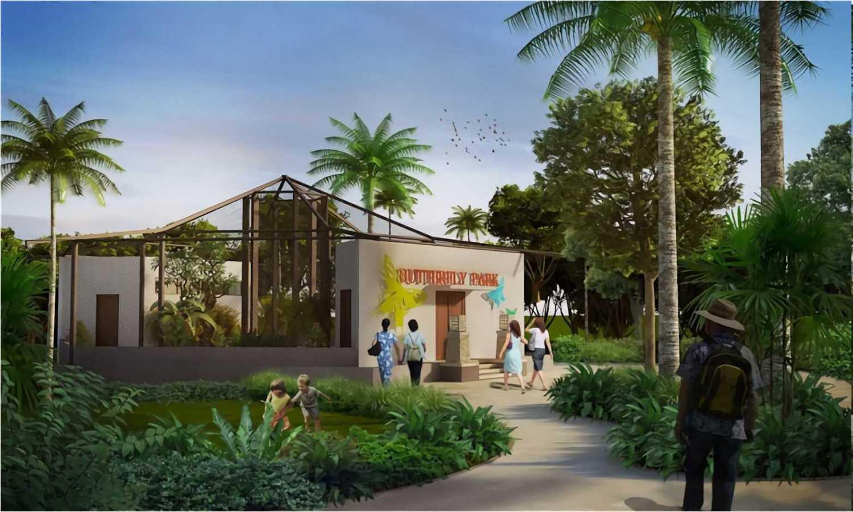 Hg Architects & Designers Associates Taman Wisata Alam Gunung Tunak Lombok, Ntb Lombok, Ntb Butterfly Park  24344