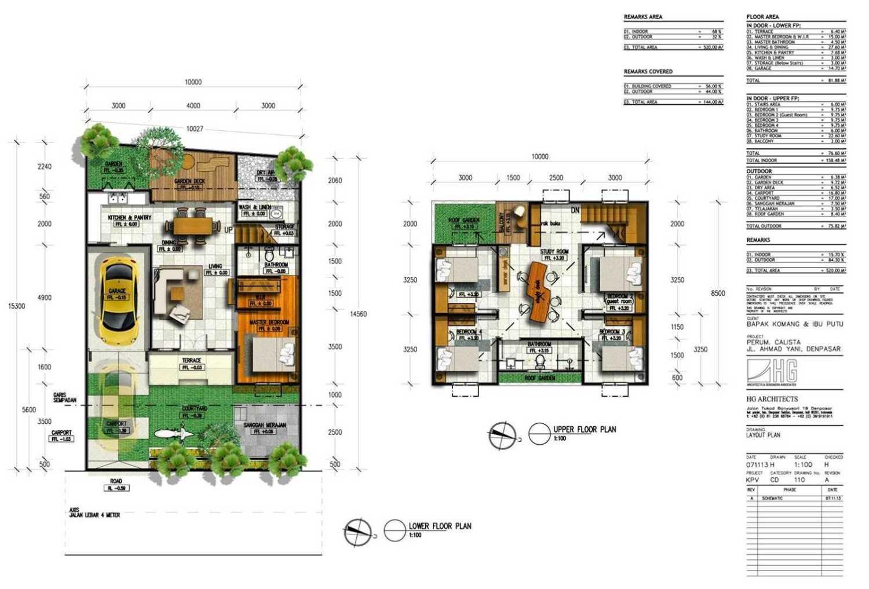 Hg Architects & Designers Associates C28 - Private House Denpasar, Bali Denpasar, Bali Denah  24418