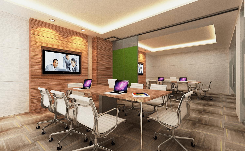 Gurkan Izci Islamic Development Bank Jakarta Office Office 8 Building  Office 8 Building  Meeting Rooms With Operable Wall  24310