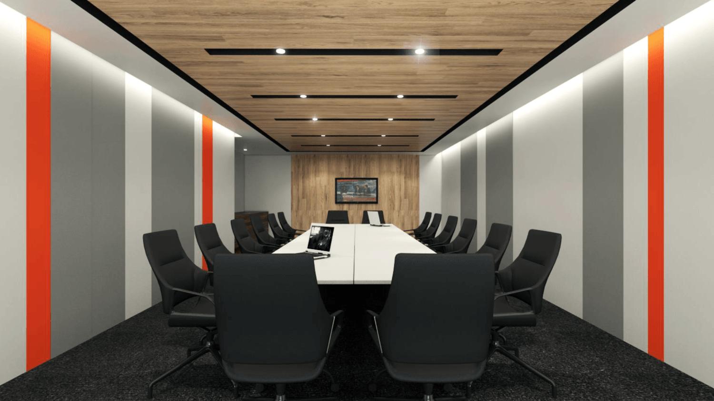 Gurkan Izci Nike Office Expansion Project Stock Exchange Building  Stock Exchange Building  Boardroom Modern 24731