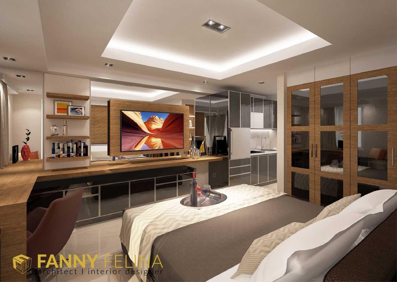 Fanny Felina Architecture & Interior Design Tanglin Studio Apartment Surabaya, Surabaya City, East Java, Indonesia Surabaya, Surabaya City, East Java, Indonesia Bedroom View Kontemporer 36935