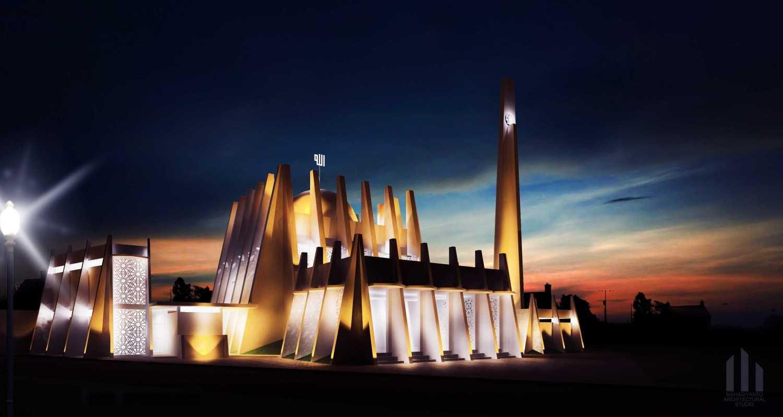 Mahastudio & Partner Masjid Permata Qolbu Permata Mediterania Residence, Jakarta Barat Permata Mediterania Residence, Jakarta Barat 2Nd Phase Modern 24811