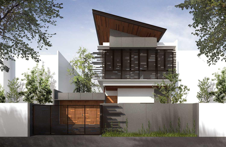 Mahastudio & Partner Cilandak House Cilandak, Jakarta Selatan Cilandak, Jakarta Selatan Cilandak House Tropis 24901