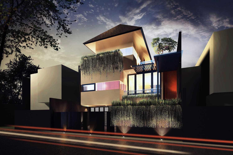 Mahastudio & Partner House At Lebak Bulus Lb. Bulus, Cilandak, Kota Jakarta Selatan, Daerah Khusus Ibukota Jakarta, Indonesia Jakarta Night-View Tropis 28347